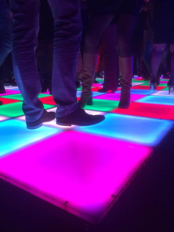 Verlichte Dansvloer RGB